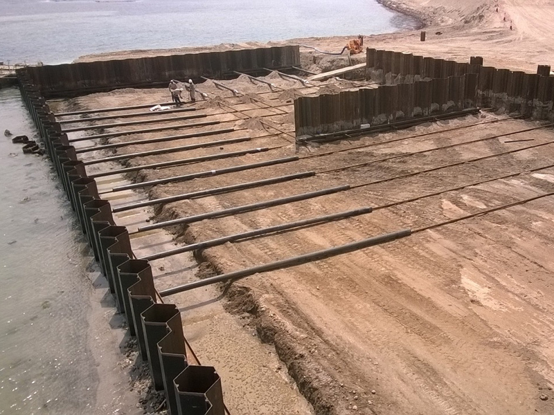 Combi Wall Sheet Pile Combi Wall Ssab What Is A Pile