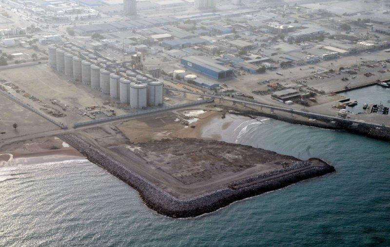 Fujairah northern land reclamation project phase 2 for Soil reclamation