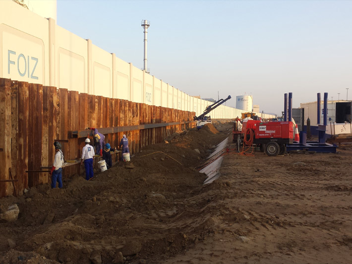 Shoring Works Gulf Foundation Fze